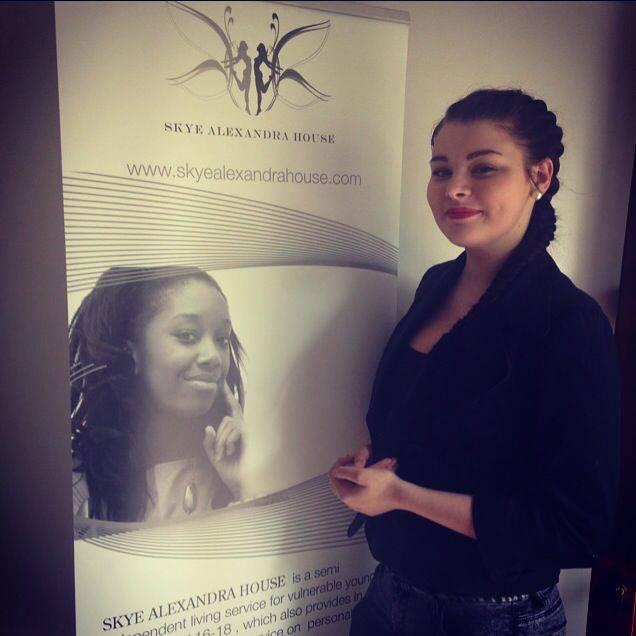 Charlie, Youth Ambassador for Skye Alexandra House