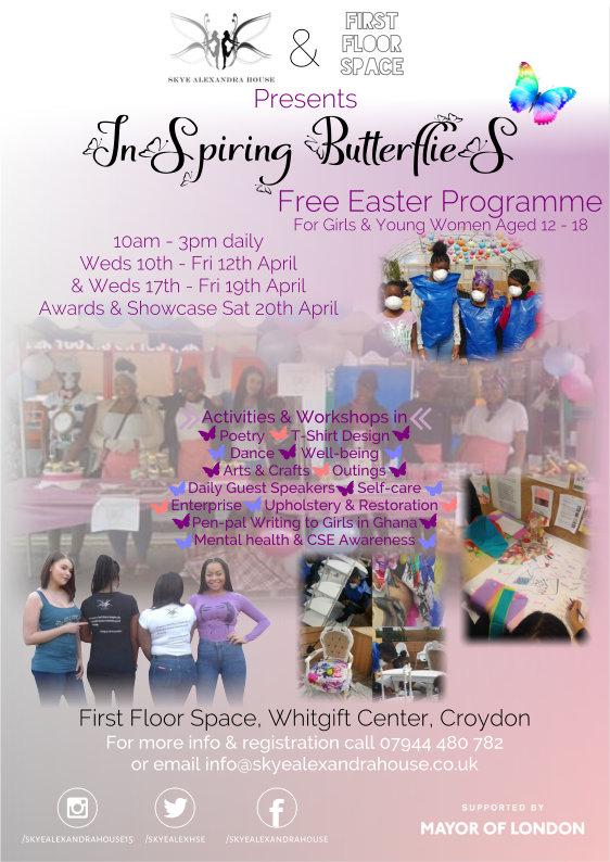 Inspiring Butterflies Easter Programme 2019